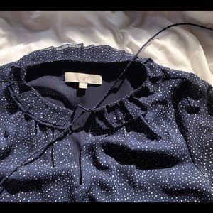 Ann Taylor Loft flows sheer fabric dress sz6